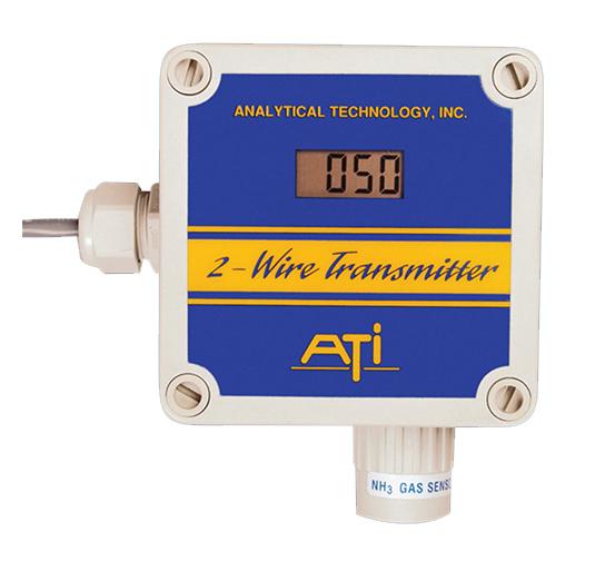 美国ATI B12 二线制湿式气体检测仪