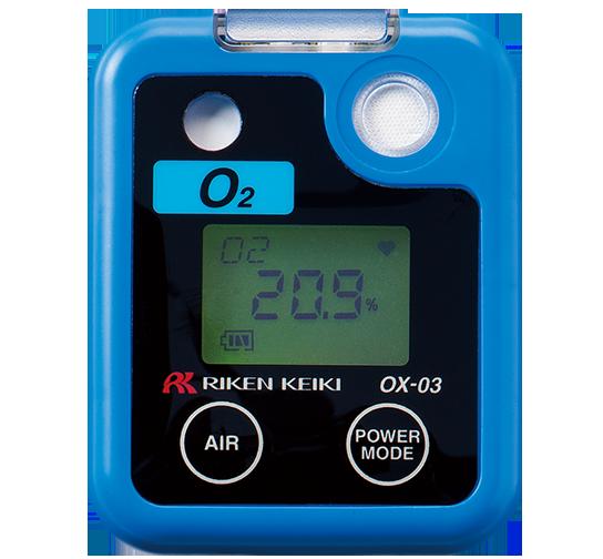 日本RIKEN(理研) OX-03便携式氧气检测仪