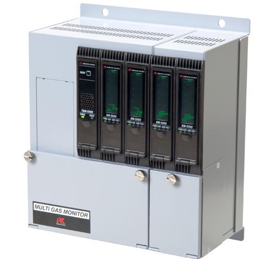 日本RIKEN(理研)RM-5000气体检测报警系统