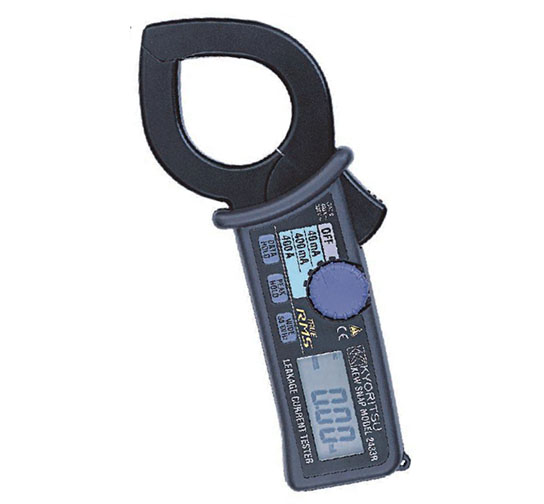 日本共立 MODEL2433/2433R泄漏电流钳形表