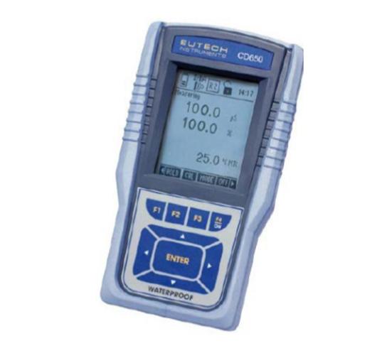 美国Eutech优特  CD650便携式多参数水质分析仪