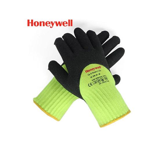 霍尼韦尔 乳胶耐磨保暖工作手套