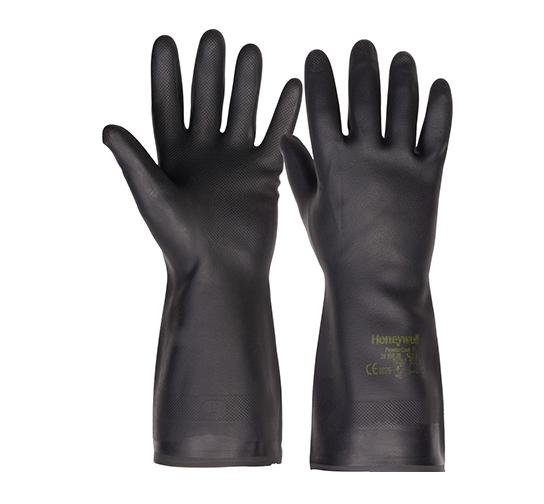 霍尼韦尔 氯丁橡胶防化手套(短、长两款)